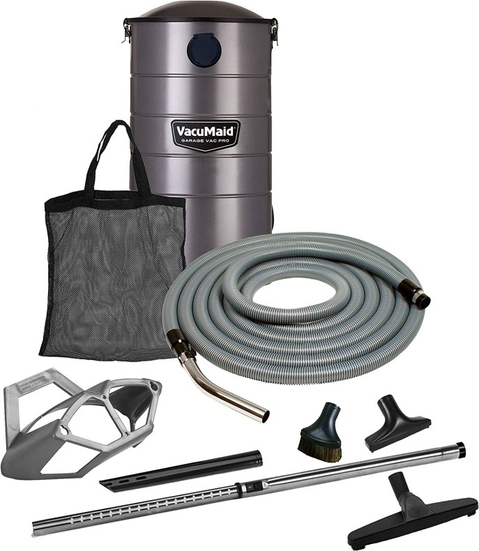 Image result for vacumaid gv50pro wall mounted garage and car vacuum