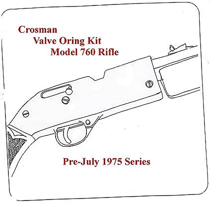 Bp Crosman 760 Air Pre July 1975 Series Tune Up Valve O