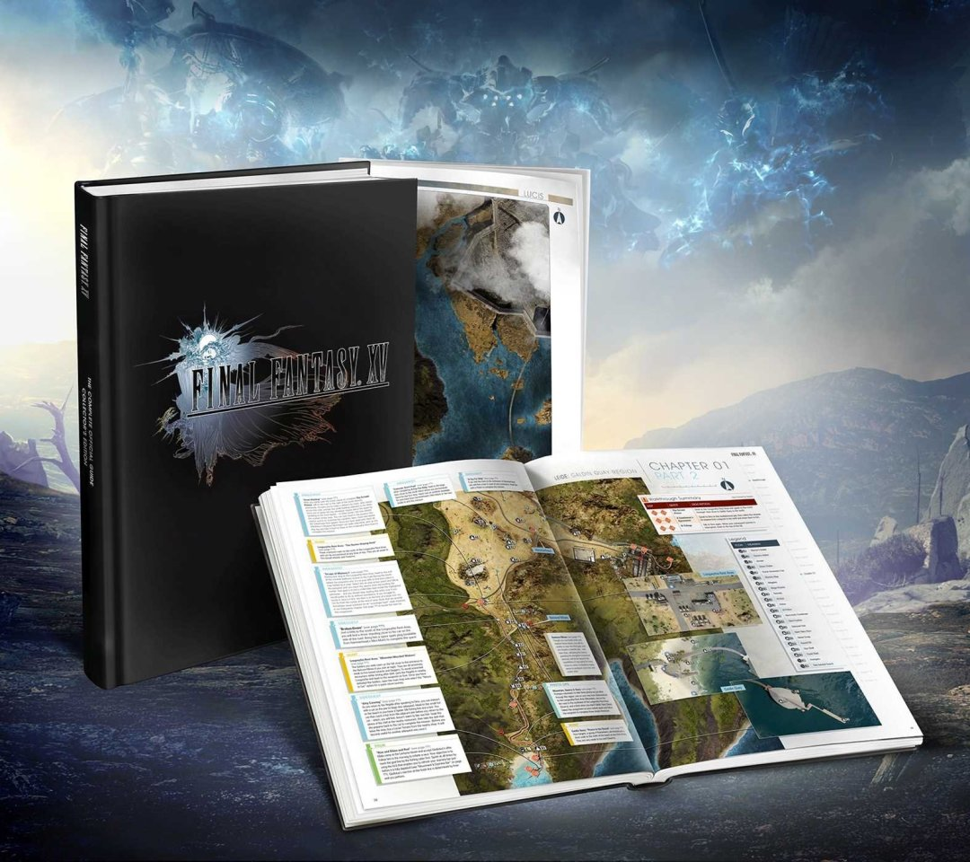Final Fantasy XV The Complete Official Guide Trailer