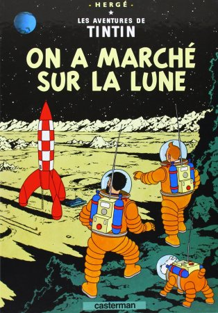 """Résultat de recherche d'images pour """"tintin on a marché sur la lune"""""""