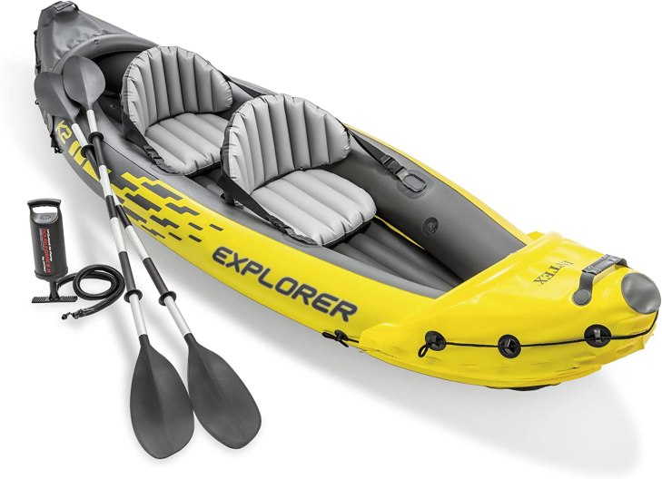 Intex Inflatable Kayak - Great gift idea for outdoor enthusiast.