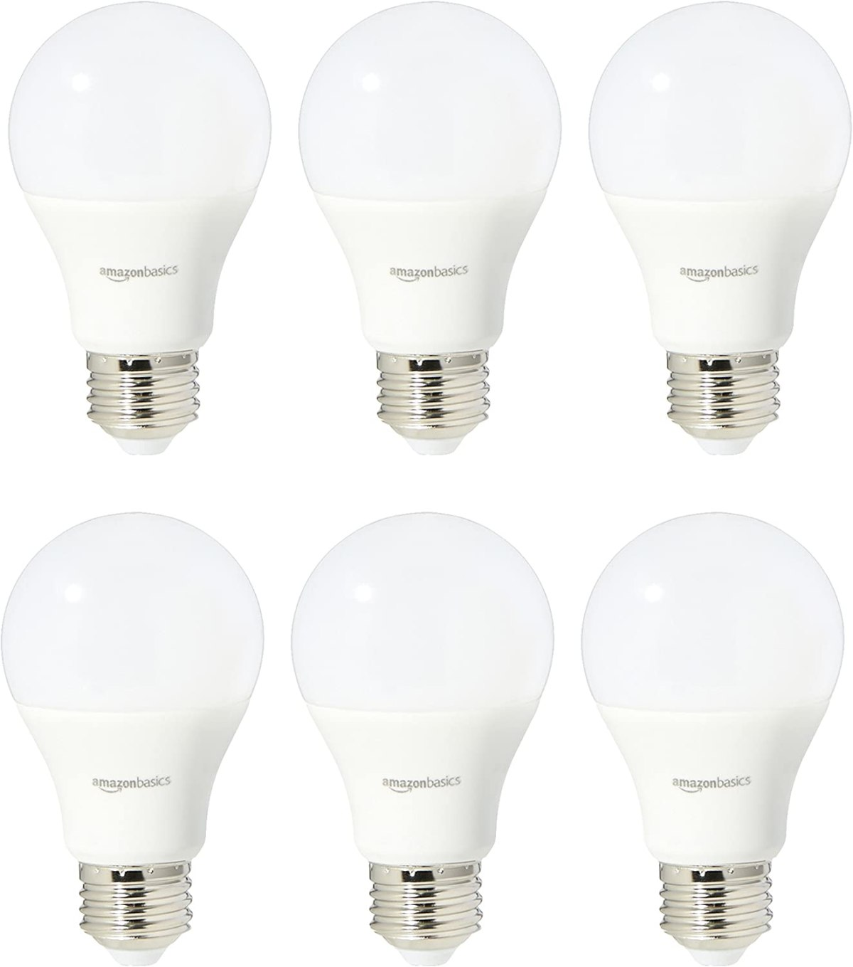 AmazonBasics 60 Watt Equivalent, Daylight, Non-Dimmable
