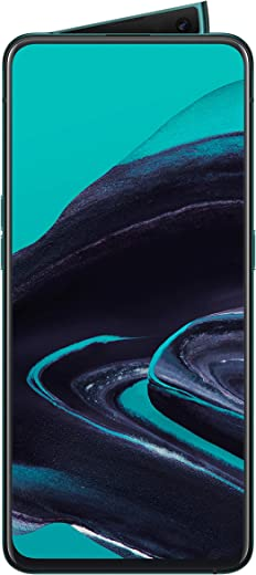 OPPO Reno2 Dual-SIM CPH1907 256GB (GSM Only | No CDMA) Factory Unlocked 4G/LTE Smartphone - International Version (Ocean Blue)
