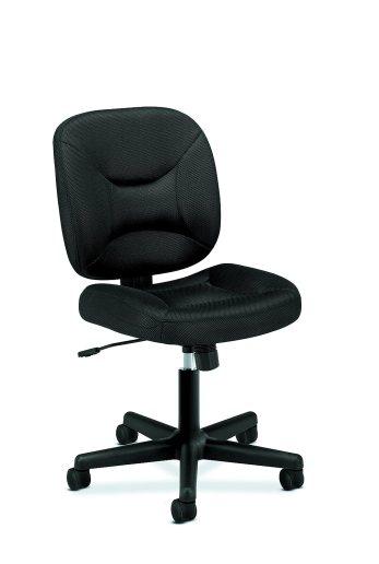 Basyx by HON VL210 Mesh Low-Back Task Chair - Black