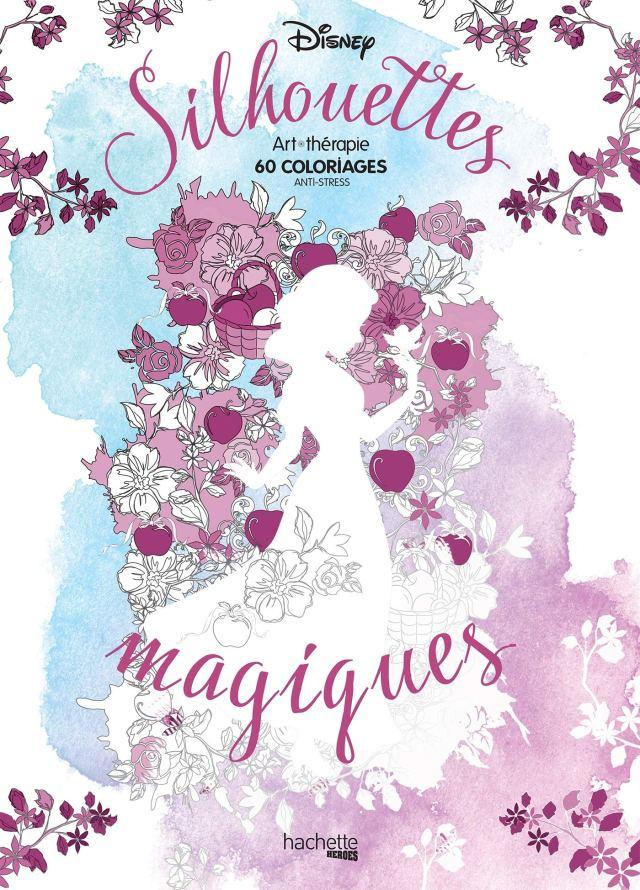 Silhouettes magiques Disney: 30 coloriages : Disney: Amazon.de: Bücher