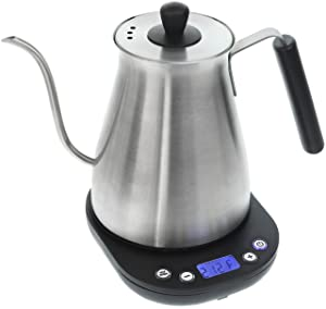 Willow & Everett Electric Gooseneck Kettle with Variable Temperature Control