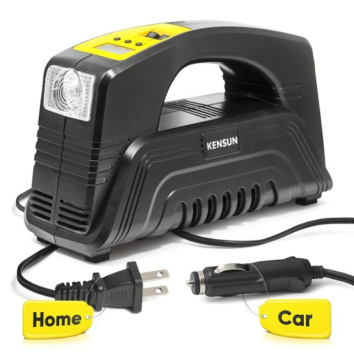 Kensun AC/DC Rapid Performance Portable Air Compressor review