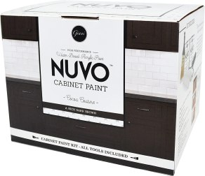 best paint for bathroom cabinet- Nuvo