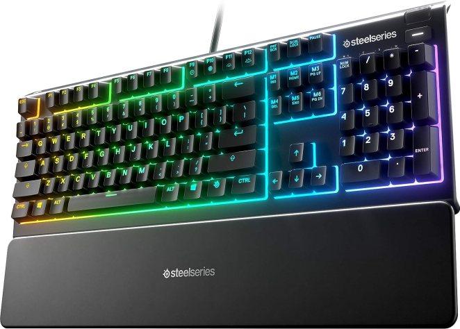 quiet gaming keyboard under 100$