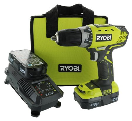 Ryobi P1811 One+ Compact Drill Black Friday Deals 2019