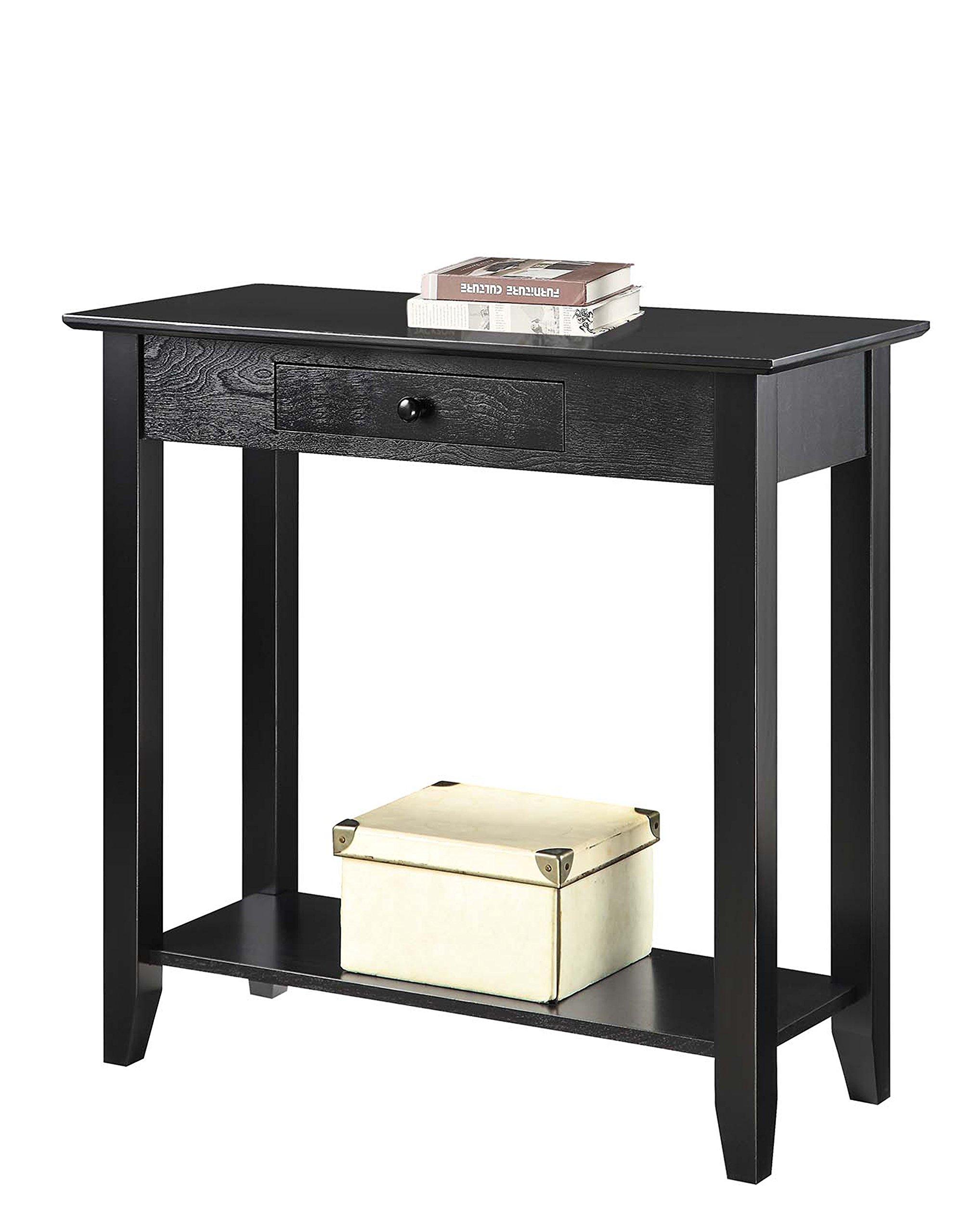 title   Black Foyer Table