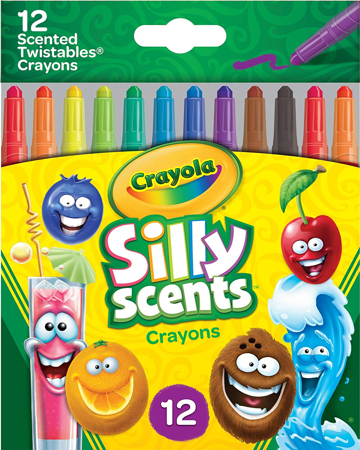 Crayola Silly Scents Mini Twistables Scented Crayons