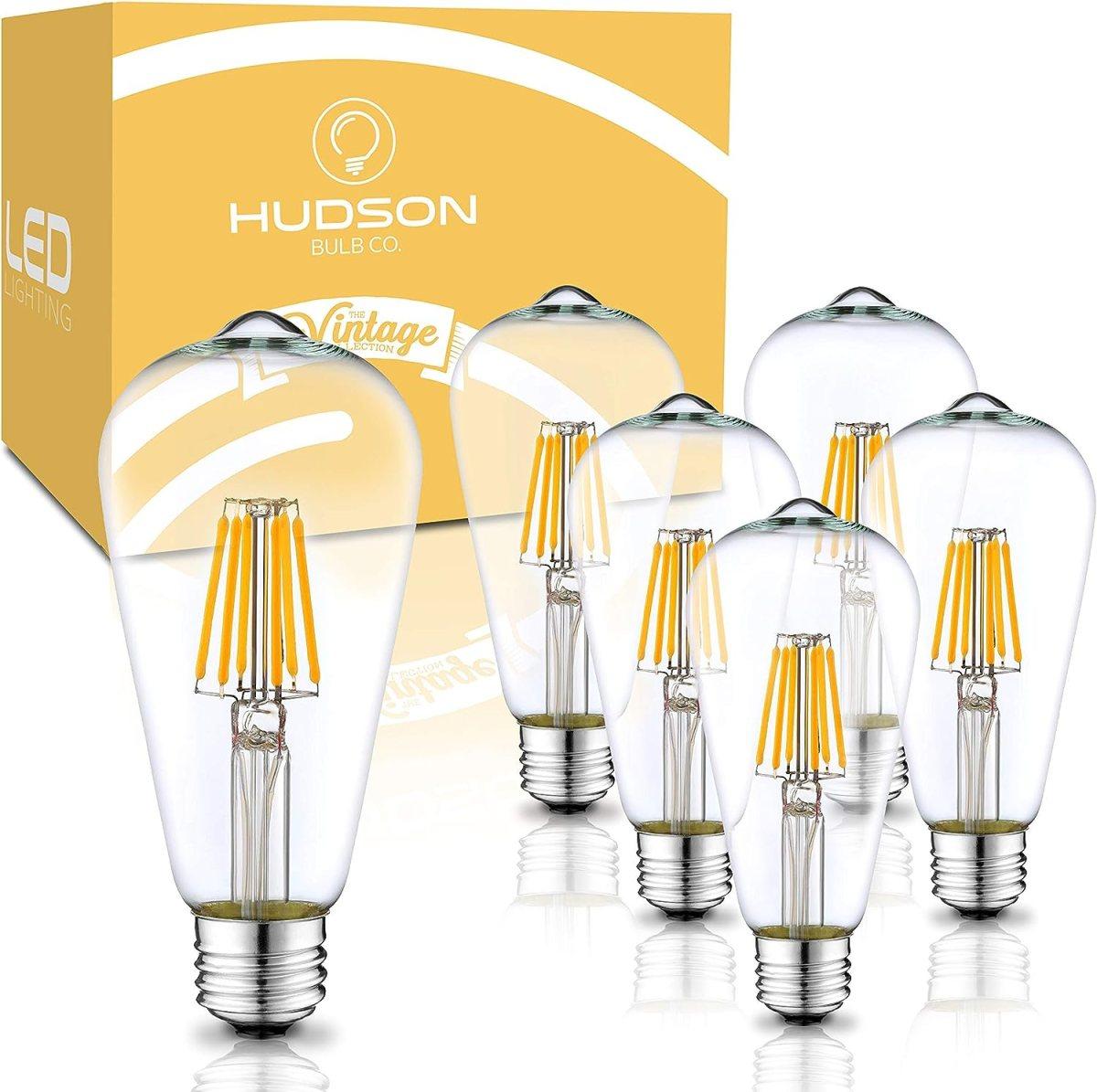 E26 Base Dimmable LED Edison light bulb