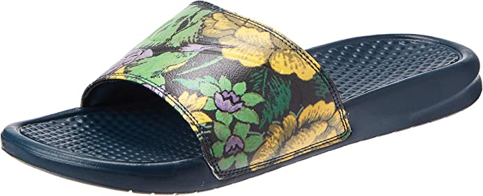 Nike Wmns Benassi JDI Print, Zapatos de Playa y Piscina desde