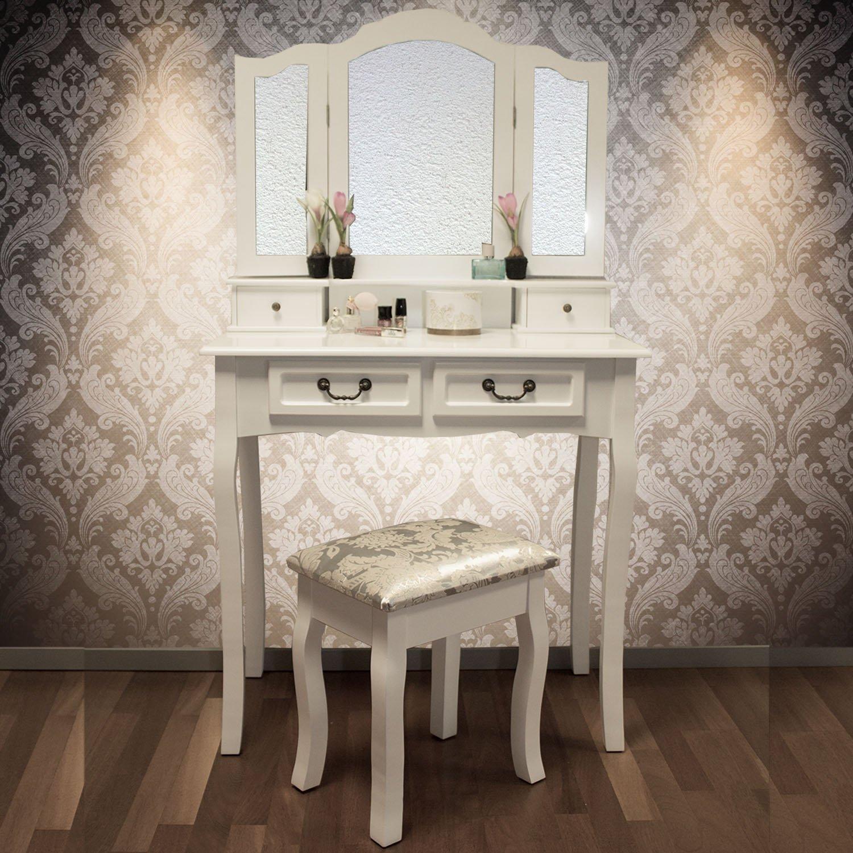 wo kann man einen schminktisch g nstig kaufen. Black Bedroom Furniture Sets. Home Design Ideas