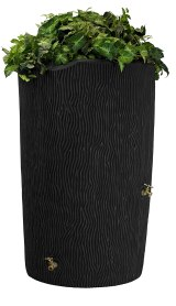 decorating plastic rain barrels