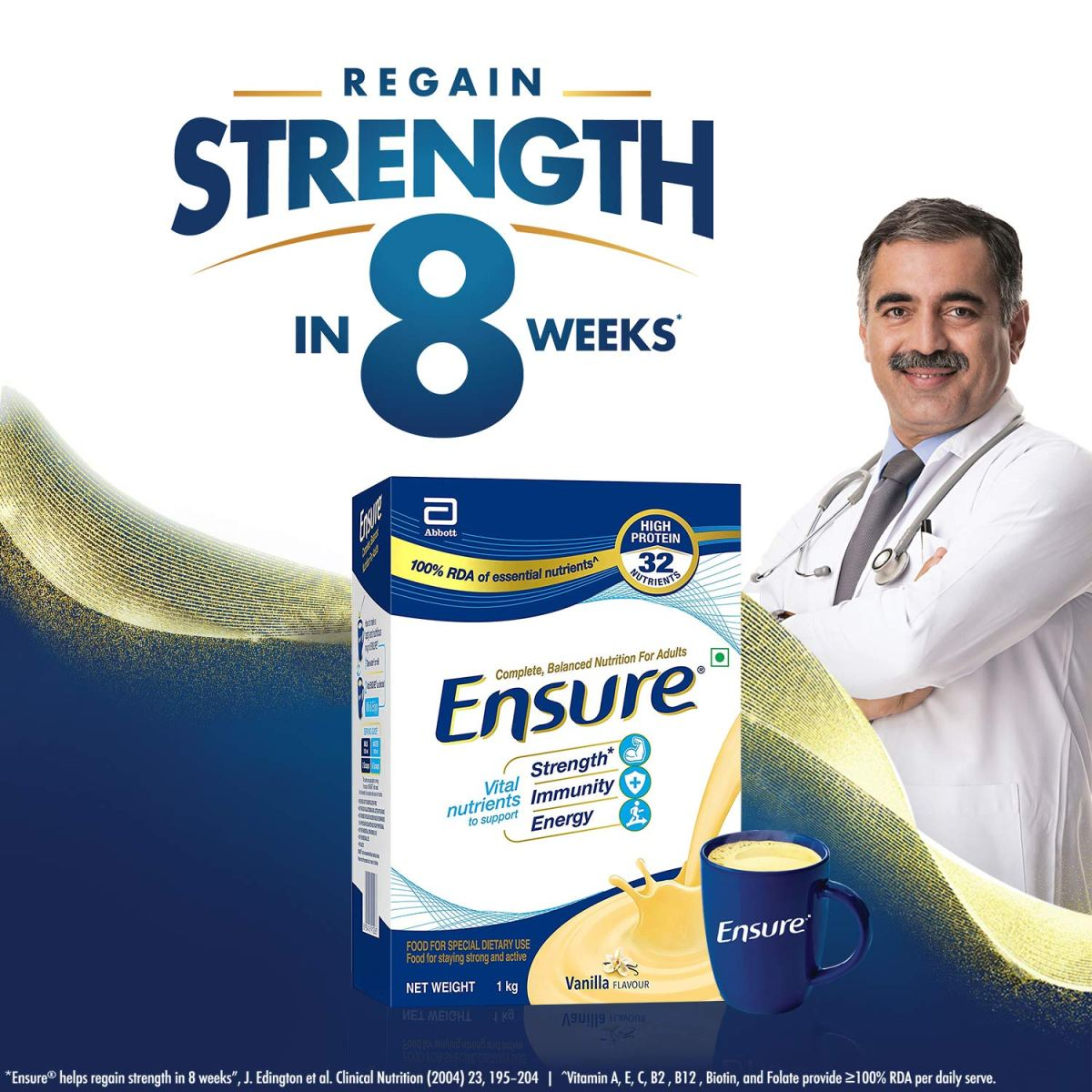 Ensure Drink Benefits to Stay Strong and Active