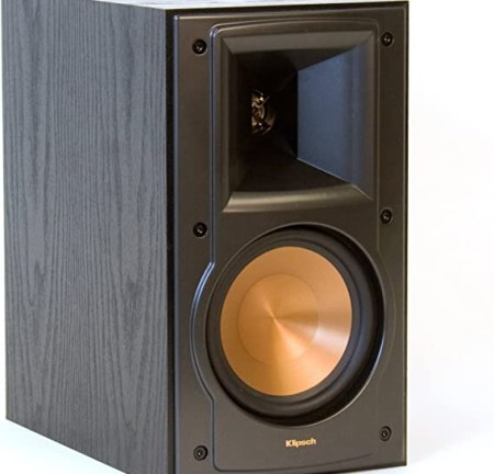 "Klipsch RB-51 II (Pr) 2-Way Bookshelf Speakers,Black,Dimensions: 11.4"" H x 6.5"" W x 10.75"" D"
