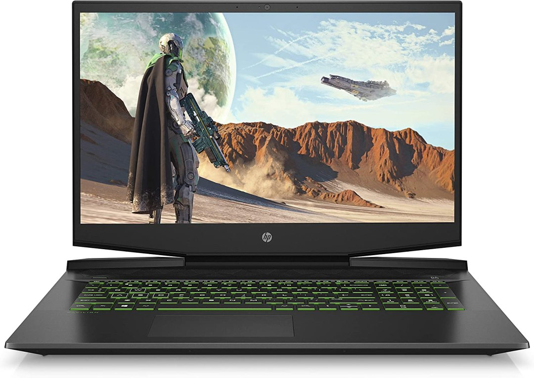 "HP Pavilion Gaming 17-cd0021nf PC Portable Gaming 17,3"" FHD IPS Noir (Intel Core i5, RAM 8 Go, 1 To + SSD 128 Go, NVIDIA GeForce GTX 1650, AZERTY, Windows 10)"