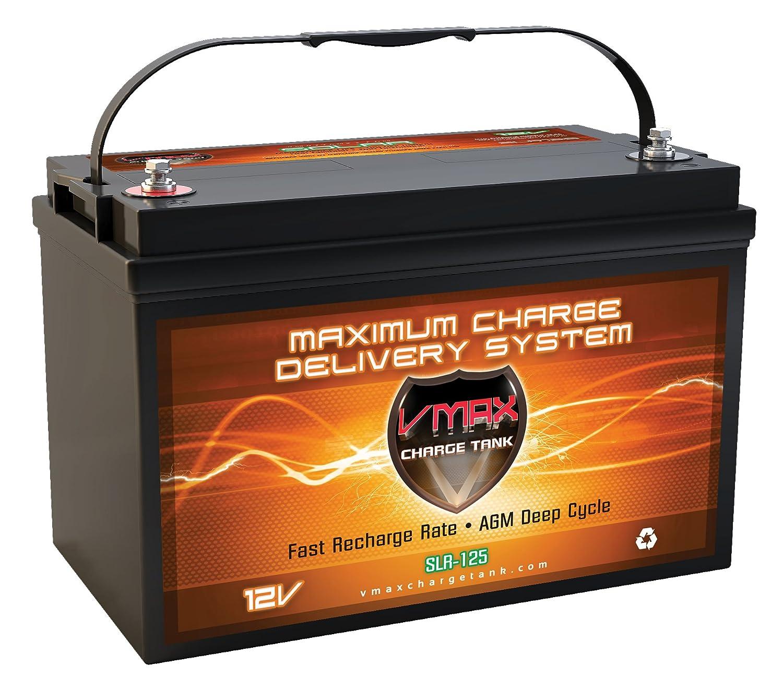 Vmaxtanks Vmaxslr125 AGM Deep Cycle