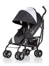 Summer Infant 3D One Convenience Stroller, Eclipse Gray