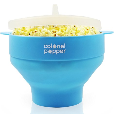 colonel popper microwave popcorn maker review