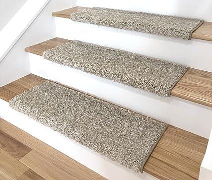 Bullnose Carpet Stair Treads The Instapaper   Carpet Stair Treads Amazon   Non Skid   Anti Slip   Beige   Skid Resistant   Tread Rugs