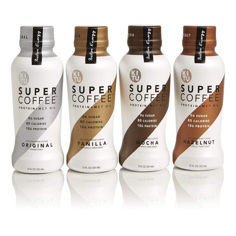 Kitu By Sunniva Super Coffee 4 Variety Pack Sugar Free