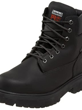 "Timberland PRO Men's 26038 Direct Attach 6"" Steel Toe Boot,Black,7 M"
