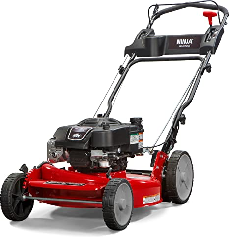 Amazon Com Snapper Rp2185020 7800981 Ninja 190cc 3 N 1 Rear Wheel Drive Variable Speed Self Propelled Lawn Mower With 21 Inch Deck And Ready Start System Ninja Mulching Blade And 7 Position Heigh Of Cut