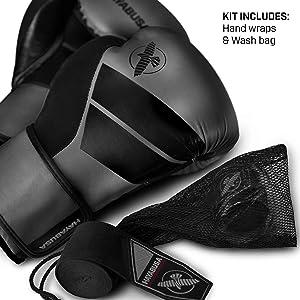 Best Boxing Gloves for Muay Thai -  Hayabusa Boxing S4 Training Gloves Black