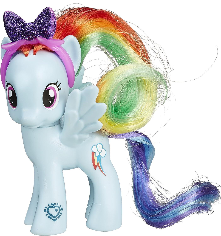 Amazon Com My Little Pony Friendship Is Magic Rainbow Dash Figure Toys Games
