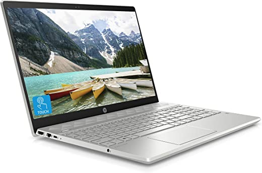 HP Pavilion 15-cw1012na 15.6 Inch Full HD Touch-screen Laptop, AMD Ryzen 5-3500U, 8 GB RAM, 512 GB SSD, Windows 10 Home - Silver