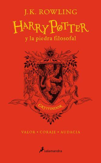 HP y la piedra filosofal-20 aniv-Gryffindor: Rojo (20 Aniversario)