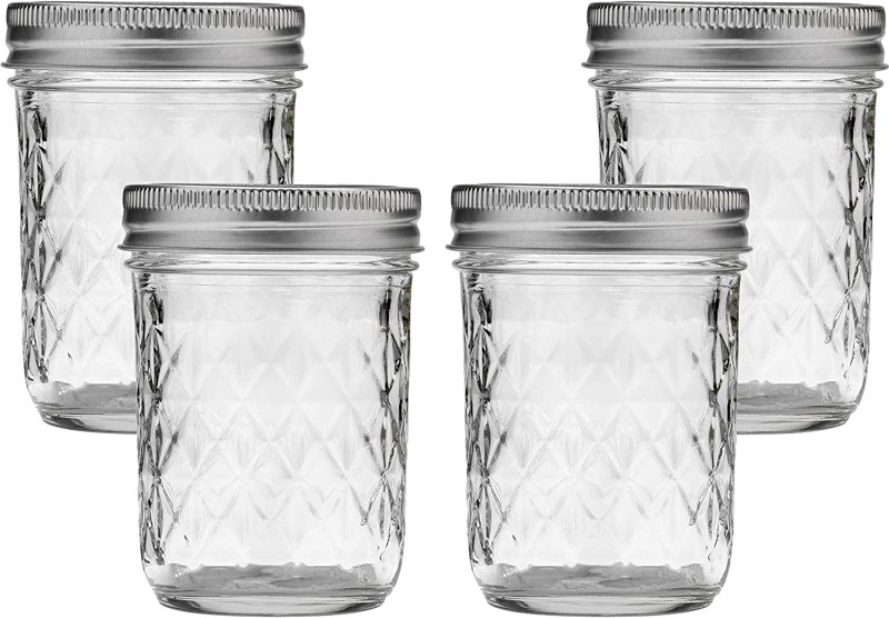 Image of 8 Ounce Mason Jars