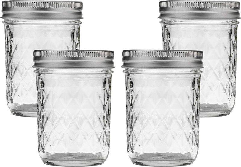 Image of 8 Ounce Mason Jars