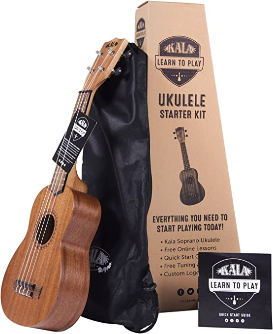 Amazon.com: Official Kala Learn to Play Ukulele Soprano Starter ...