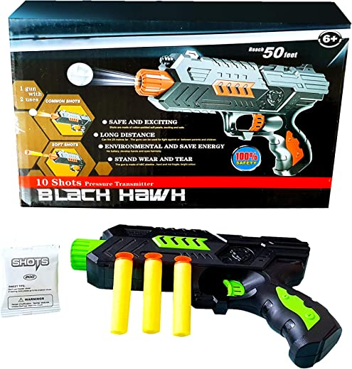 Cloud-Mart4U The Ultimate Toy Gun - Disruptor 2 Weapon Gun (High Quality) - Soft Darts and Balls for 5-Year-Old Kids