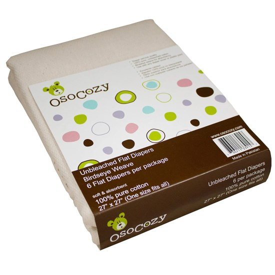 OsoCozy Flat cloth diaper