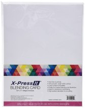 Copic Markers 8-1/2 by 11-Inch Blending Card