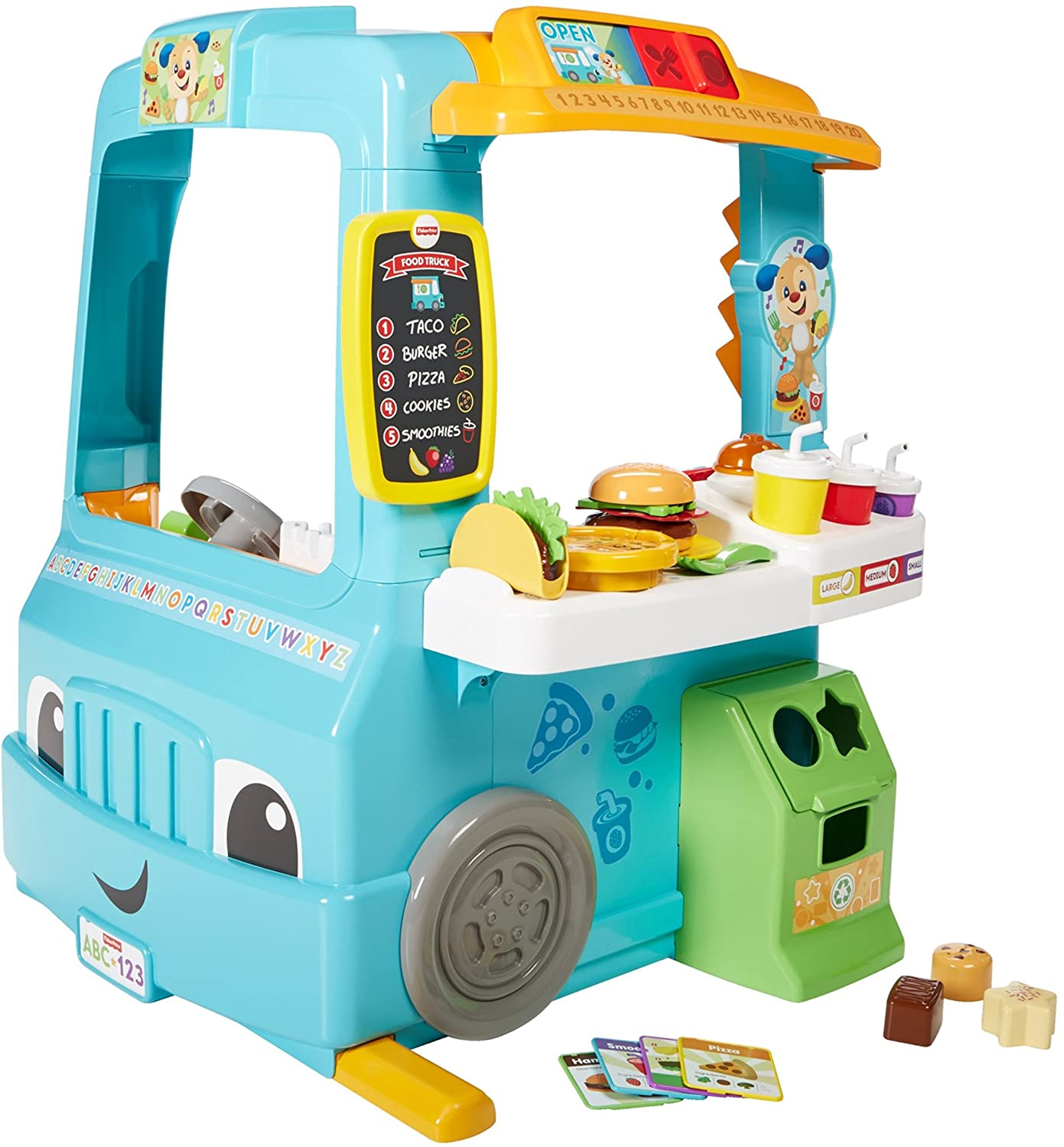 Mega Bloks Food Truck Kitchen Fisher-Price - Cherished Toy Finds