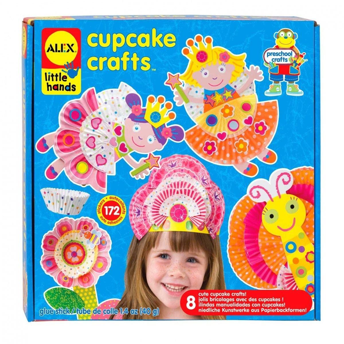 ALEX Toys Little Hands Paper Puppets · ALEX Toys Little Hands Cupcake Craft c3256a324e50f