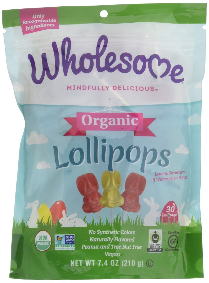 Wholesome Lollipops