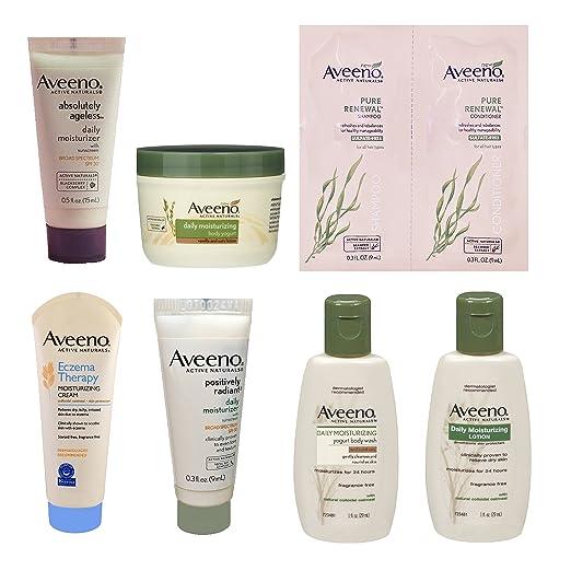 Aveeno Sample Box (get a $7.99 credit toward future purchase of select Aveeno products)