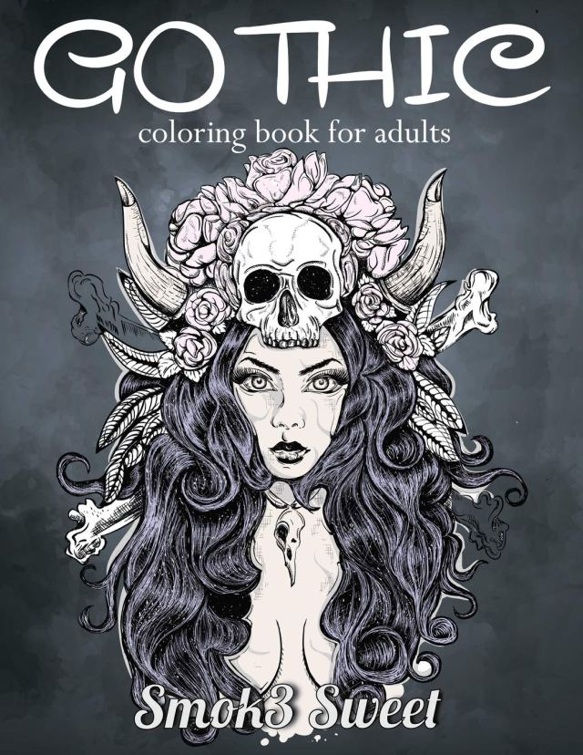Amazon.com: Gothic Coloring Book for Adult: Dia De Los Muertos
