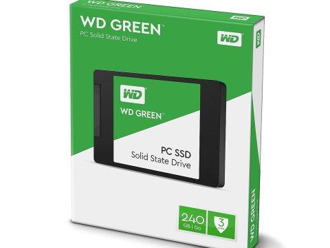 WD SSD Green パッケージ
