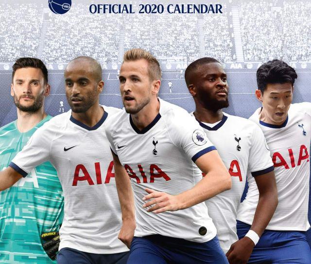 The Official Tottenham Hotspur F C Calendar  Tottenham