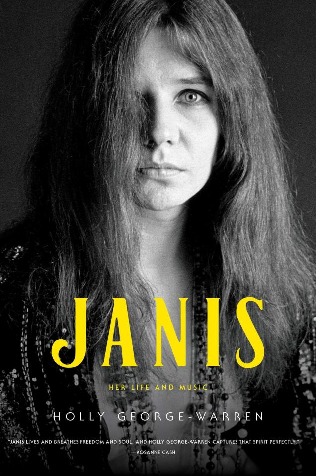 Image result for Holly George-Warren biography of Janis Joplin