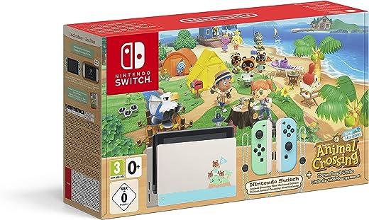 Console Nintendo Switch Animal Crossing : New Horizons Edition + Code de Téléchargement