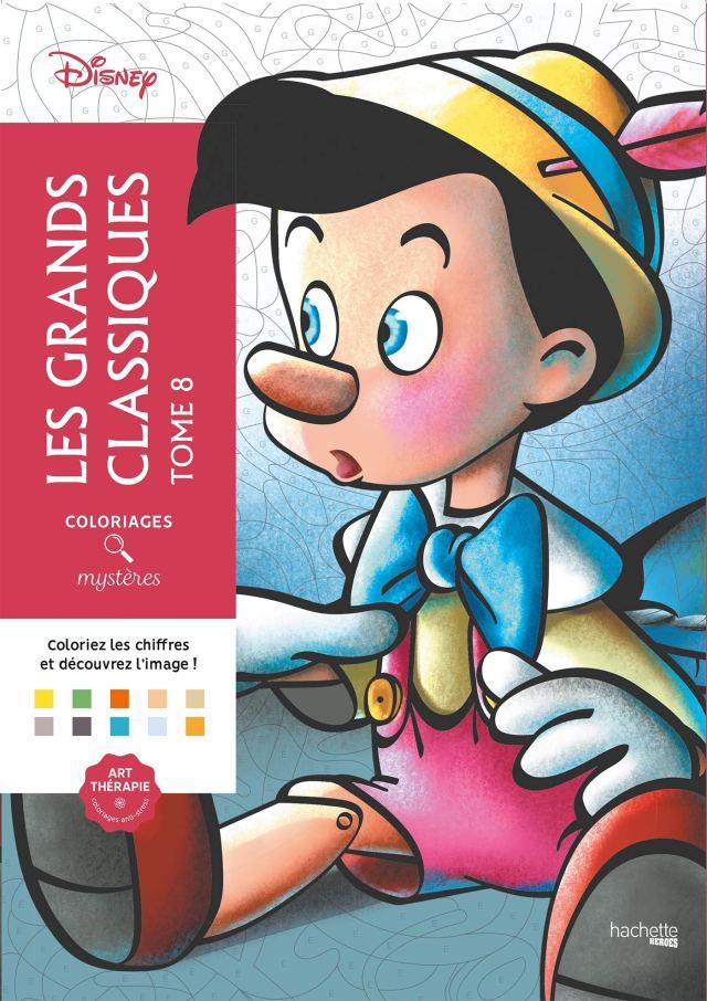 Coloriages mystères Les Grands classiques Disney Tome 18: Coloriez